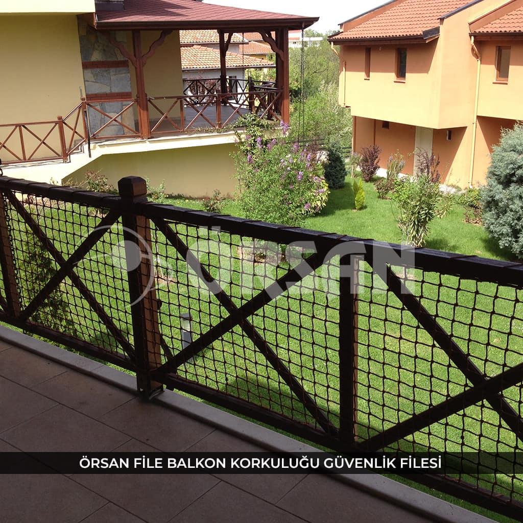balkon korkuluğu güvenlik ağı
