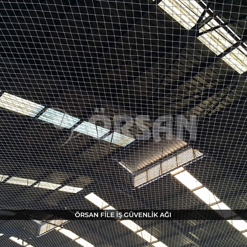 fabrika tavan iş güvenlik ağı