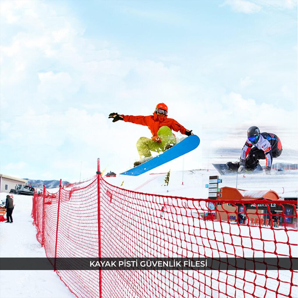kayak pisti güvenlik ağı