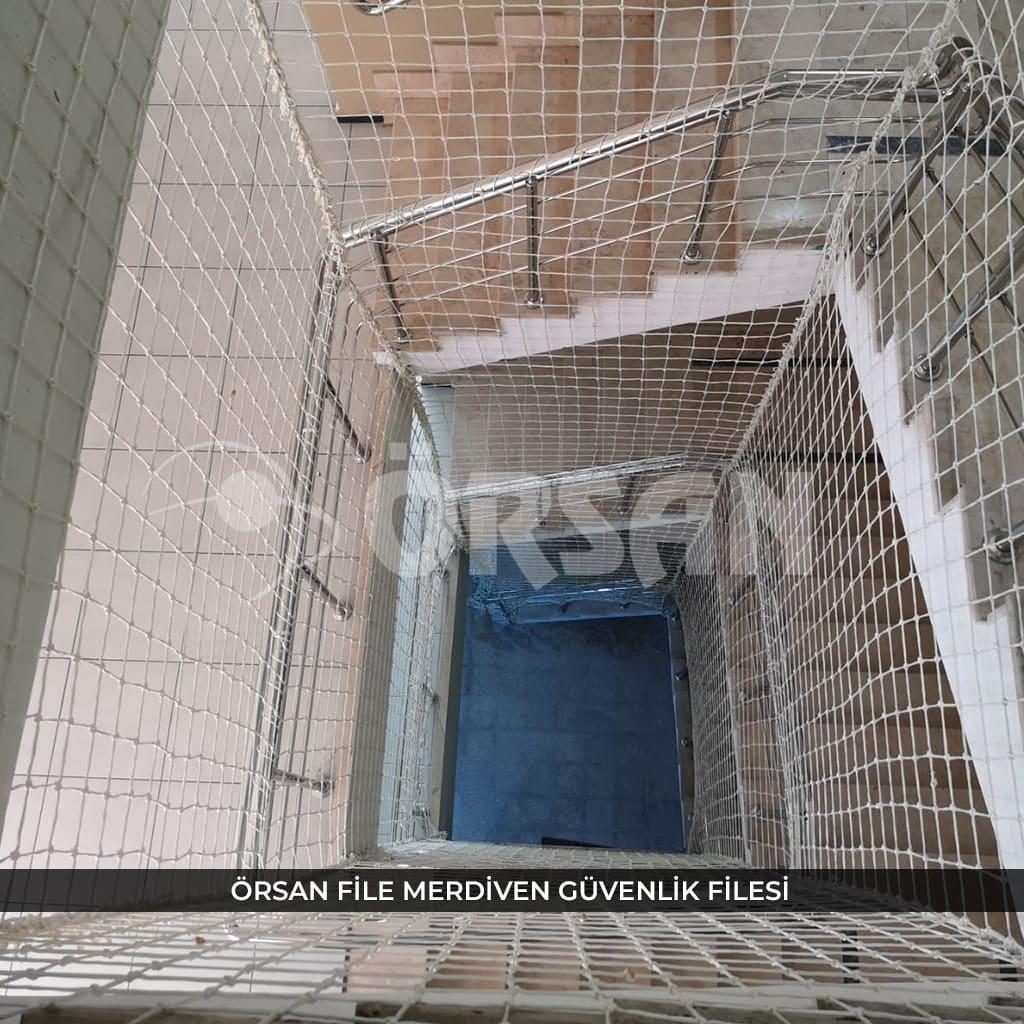 merdiven güvenlik ağı