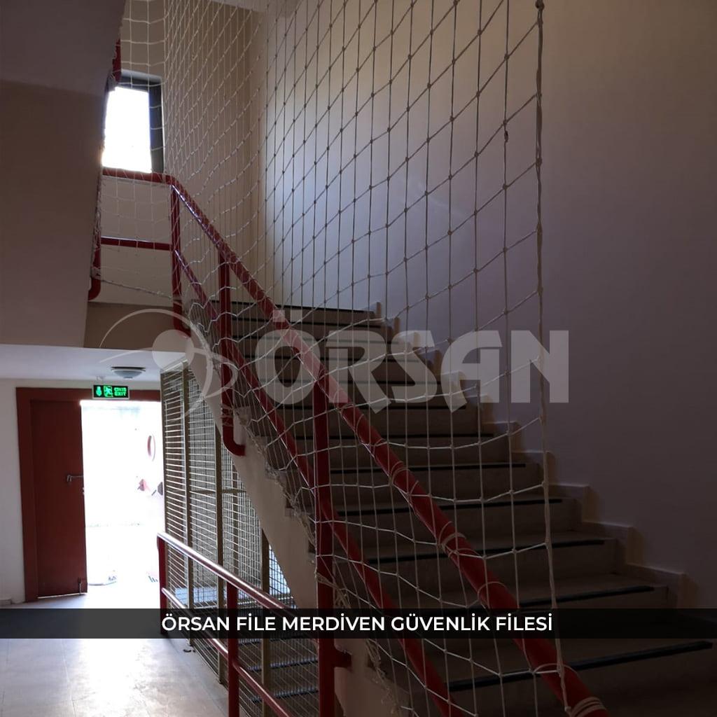 merdiven güvenlik filesi nedir
