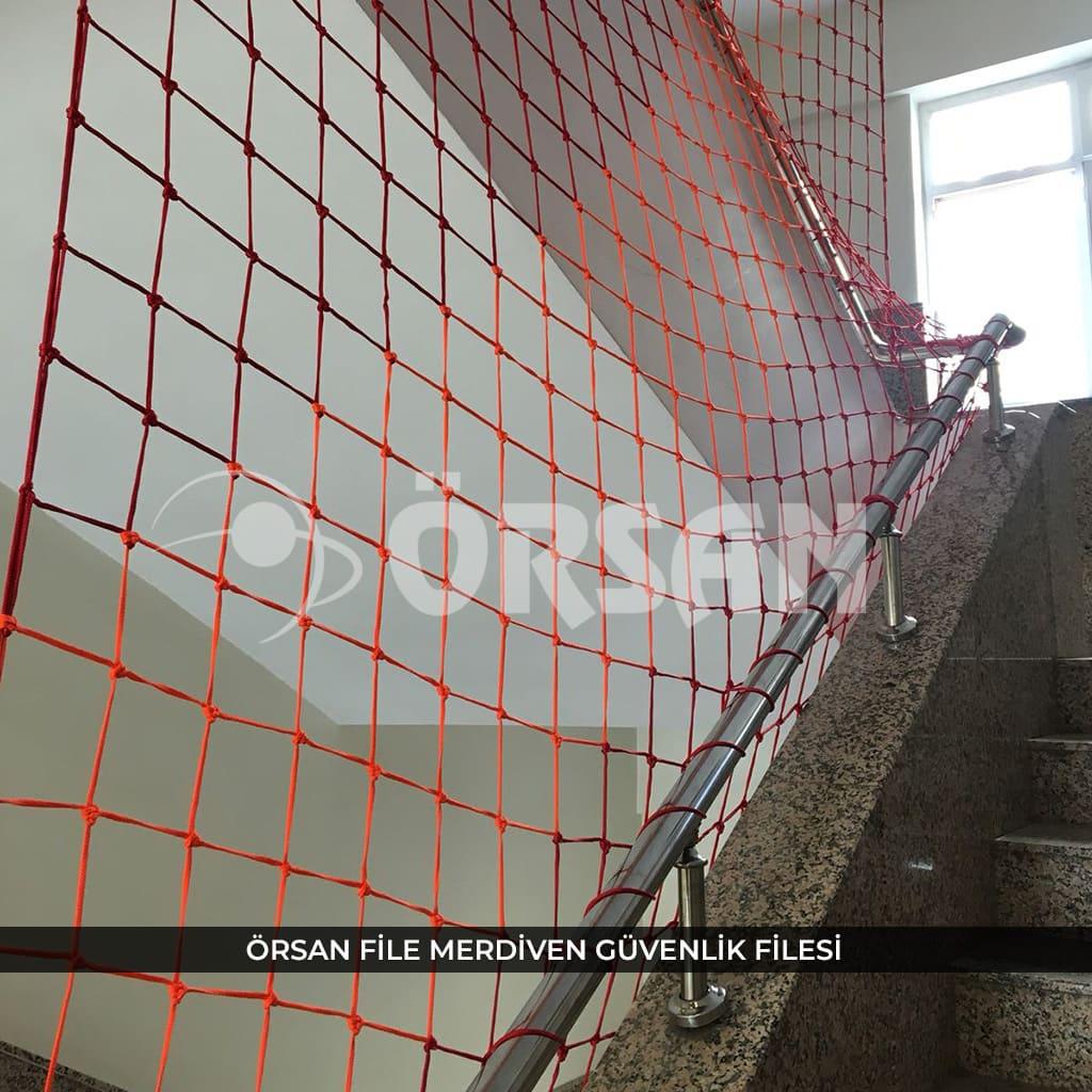 merdiven güvenlik filesi örsan file