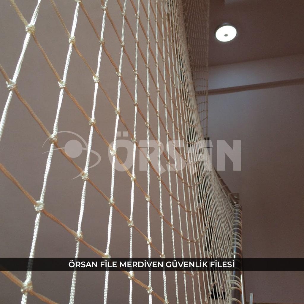 merdiven koruma ağı