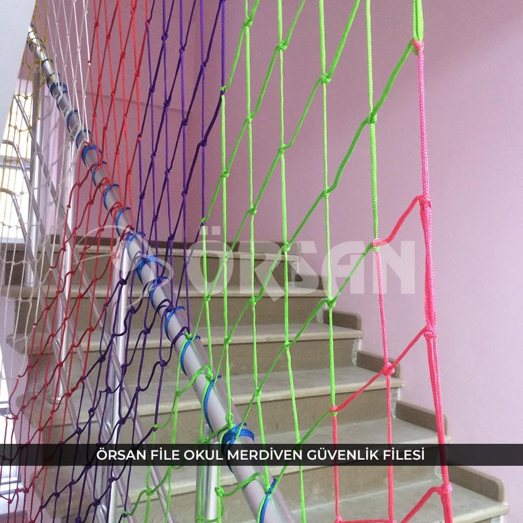 okul merdivenden düşme ağı