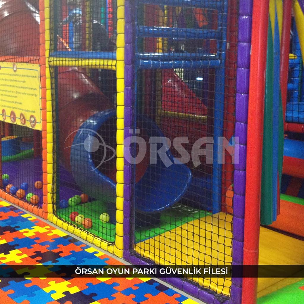 oyun parkı güvenlik ağı örsan file