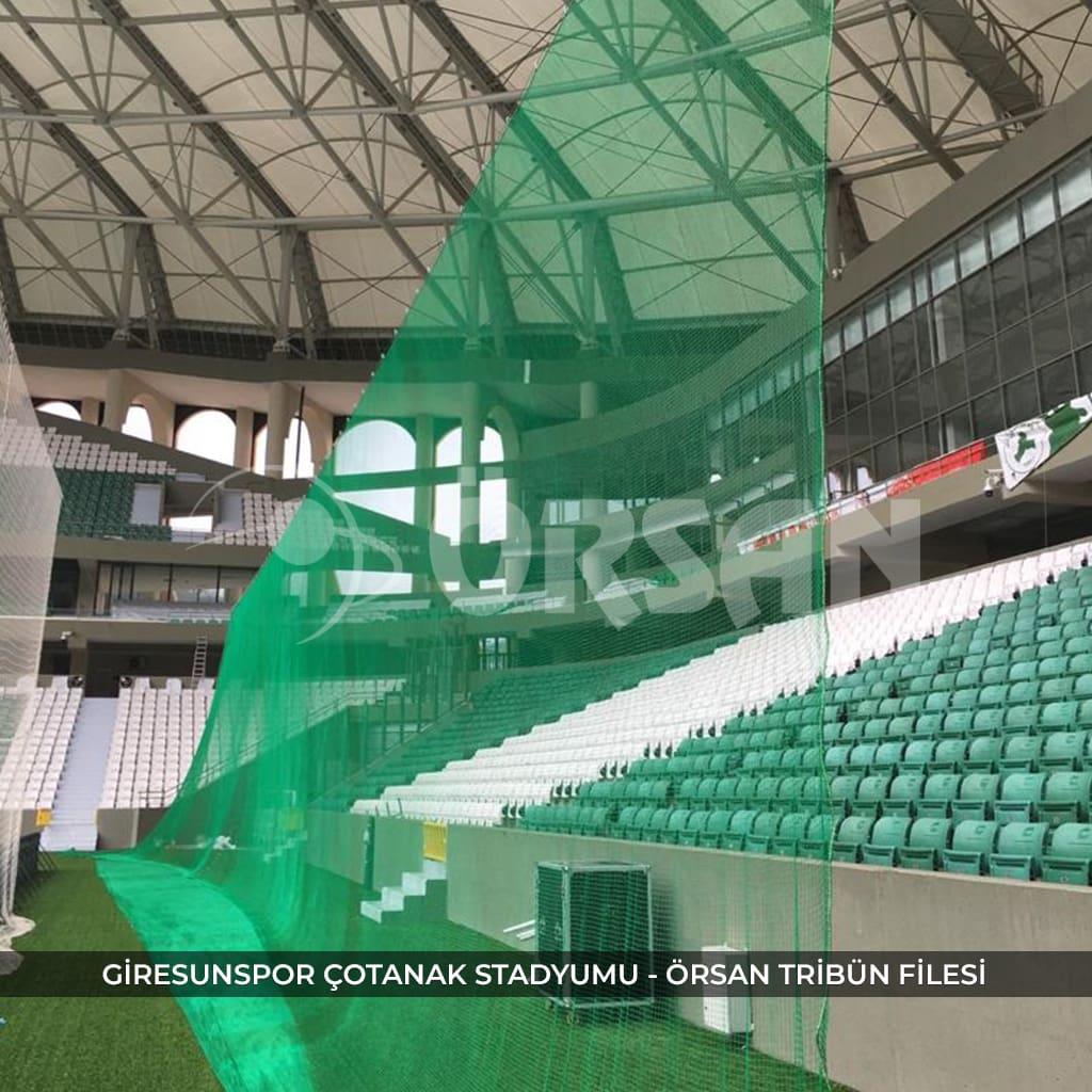 stadyum tribün koruma ağı