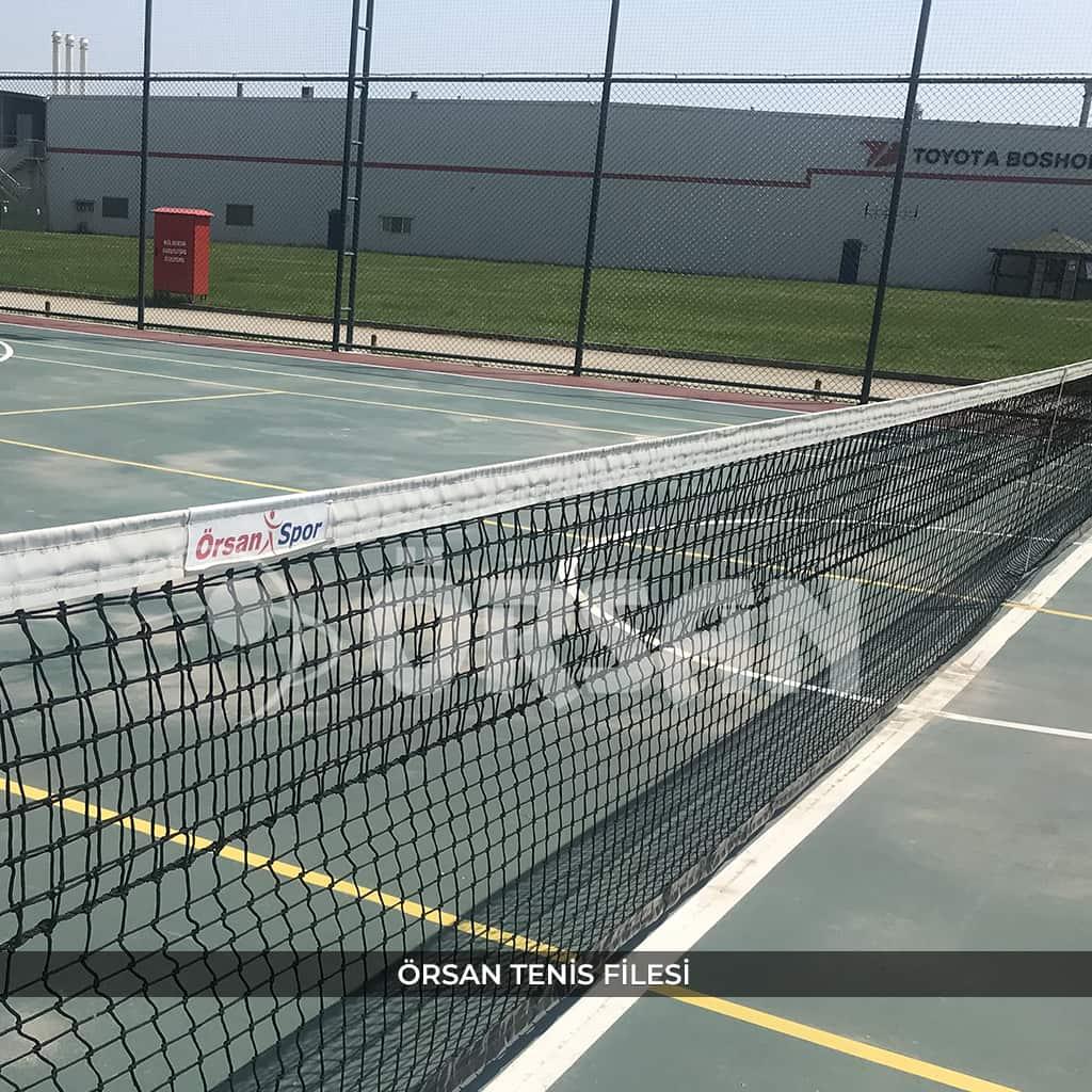 tenis kortu filesi