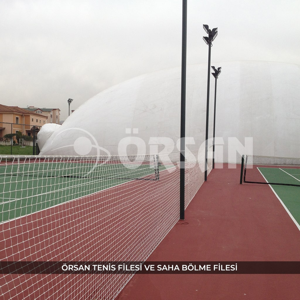 tenis sahası filesi