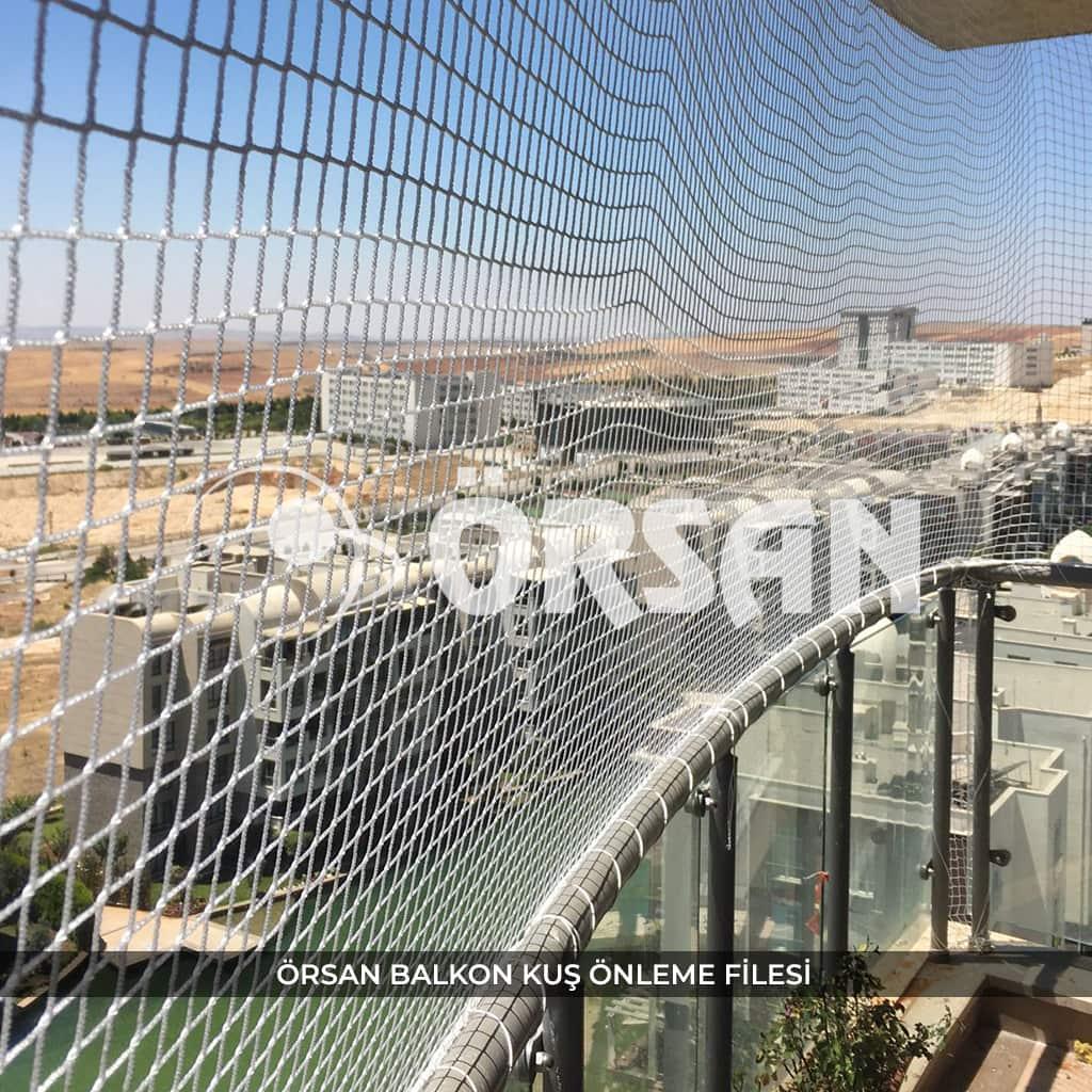 balkon kuş önleme filesi örsan