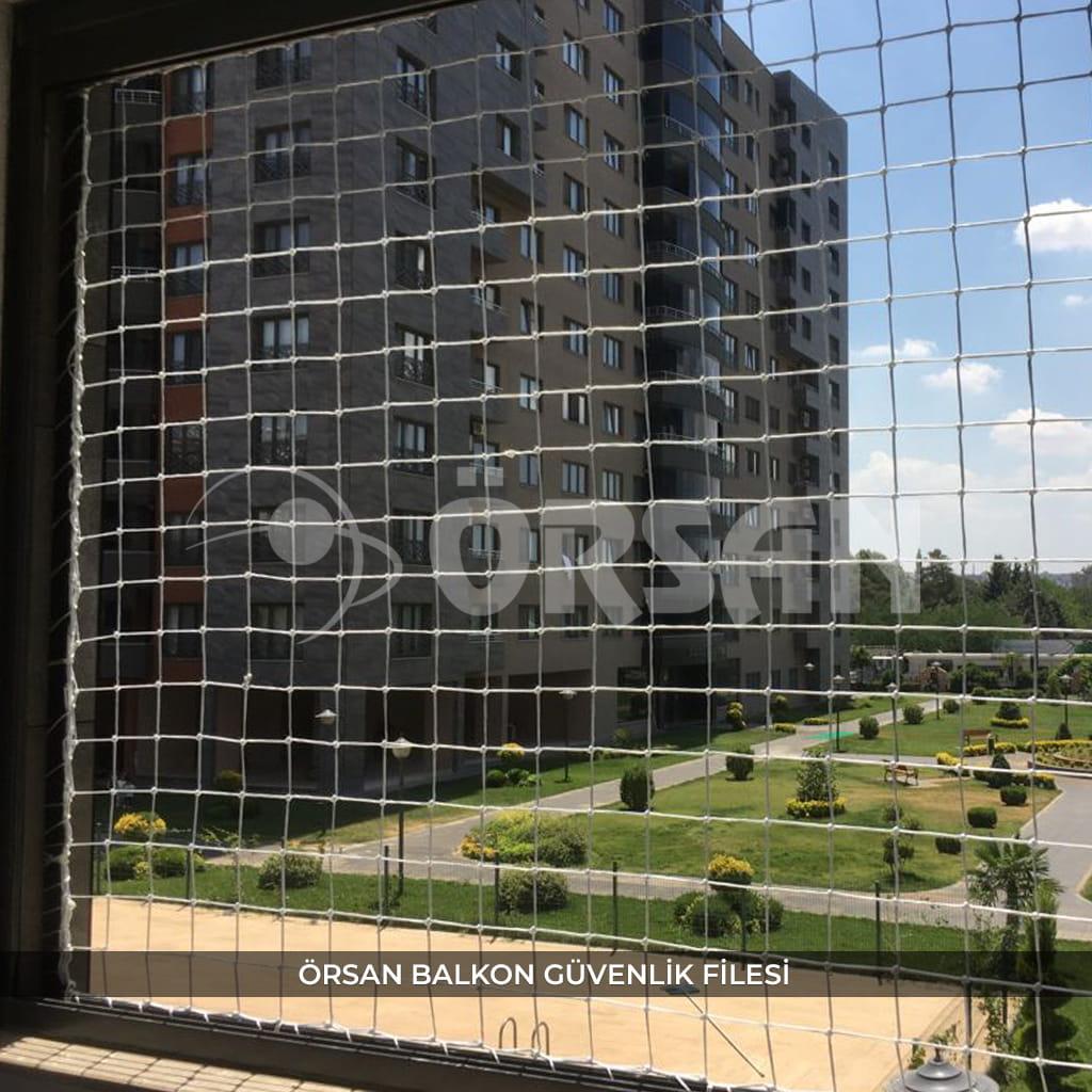 çocuk balkon güvenlik filesi